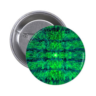El futurismo verde claro texturizó diseño del chapa redonda 5 cm