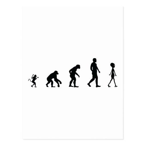 El futuro de la evolución humana postal