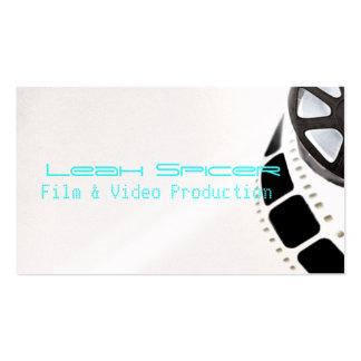 El futuro de la película miente en usted plantilla de tarjeta de negocio