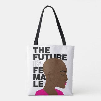 El futuro es femenino bolsa de tela