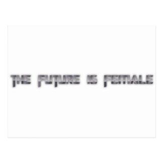 el futuro es femenino postales