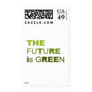 El futuro es verde sellos