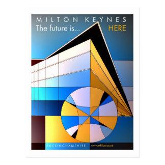 El futuro está aquí postal clásica del MK