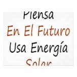 EL Futuro los E.E.U.U. Energia del En de Piensa so Invitación