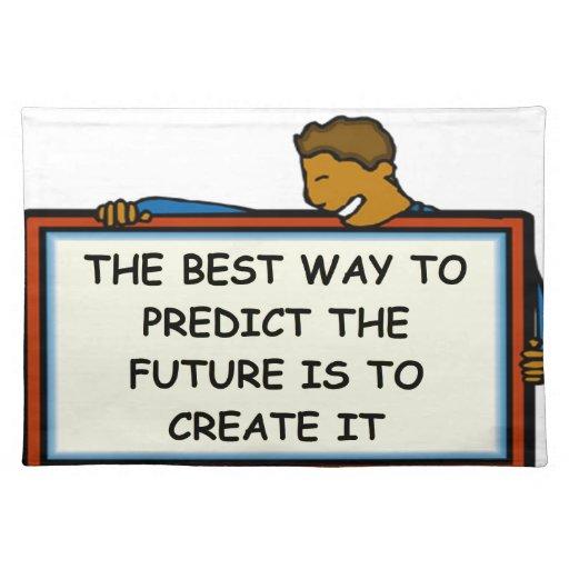 el futuro manteles individuales