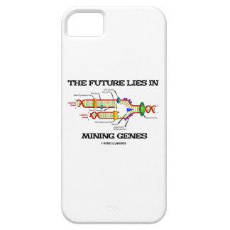 El futuro miente en los genes de la explotación funda para iPhone 5 barely there