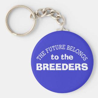 El futuro pertenece a los criadores llavero redondo tipo pin
