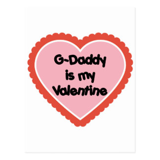 El G-Papá es mi tarjeta del día de San Valentín Postal