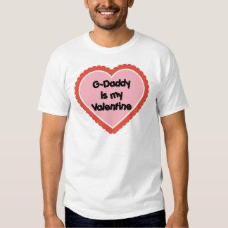 El G-Papá es mi tarjeta del día de San Valentín Remeras