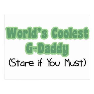 El G-Papá más fresco del mundo Tarjetas Postales