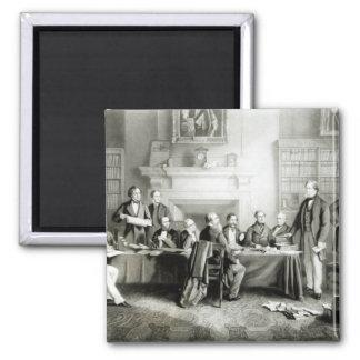 El gabinete de señor Derby de 1867, 1868 Imán Cuadrado