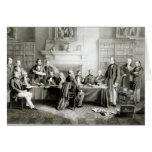 El gabinete de señor Derby de 1867, 1868 Tarjeton