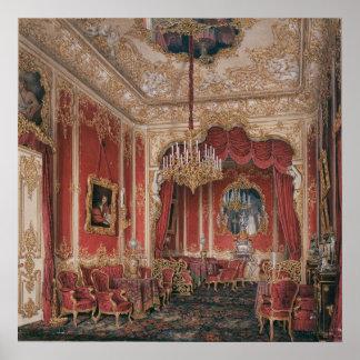 El gabinete de señora de la emperatriz Maria Póster