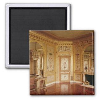 El gabinete de señora de Marie-Antonieta adornó en Imán Cuadrado