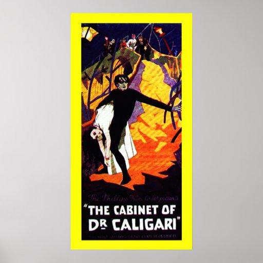 El gabinete del Dr. Caligari Póster