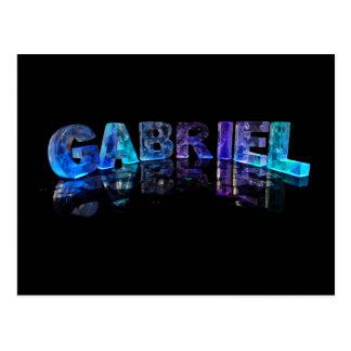 El Gabriel conocido en 3D se enciende (la Postal