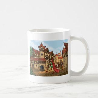 el gaitero de varios colores y los niños taza de café