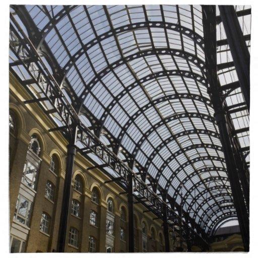 El Galleria Londres del heno Servilleta De Papel
