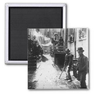 El gallinero Nueva York 1888 del bandido - foto Imán Cuadrado