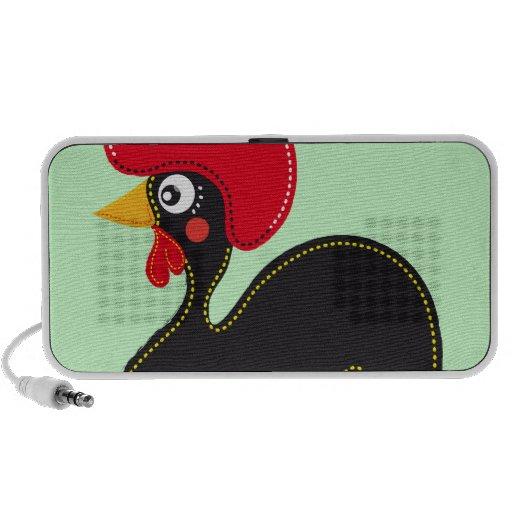 el gallo de Portugal Altavoz De Viaje