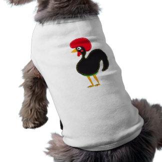 El gallo de Portugal Playera Sin Mangas Para Perro