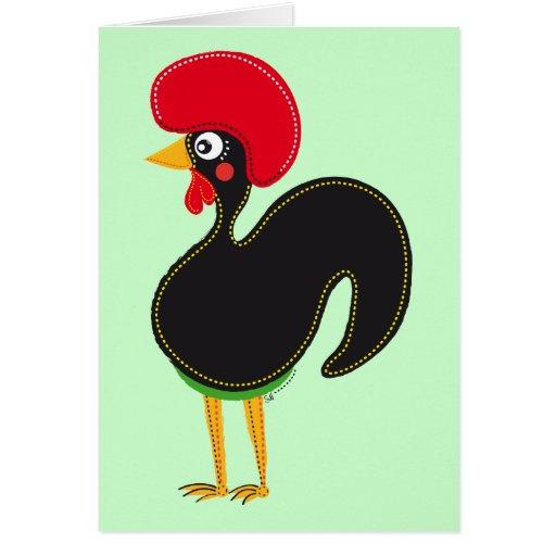 El gallo de Portugal Tarjetas