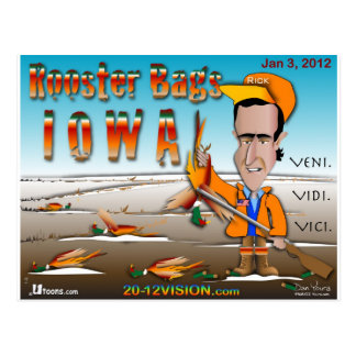 El gallo empaqueta Iowa Postal