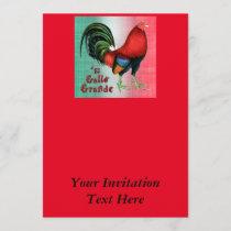 El Gallo Grande Invitation