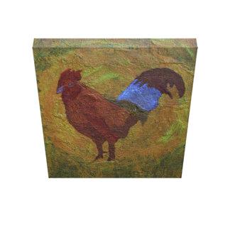 El gallo lona estirada galerias