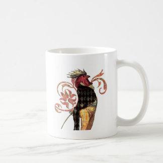 El gallo orgulloso taza