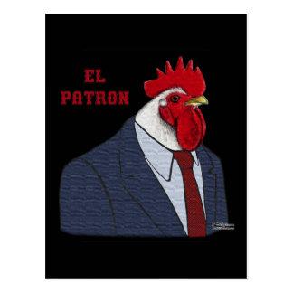El Gallo Patron Postcard