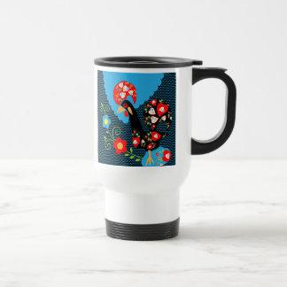 El gallo portugués taza de café
