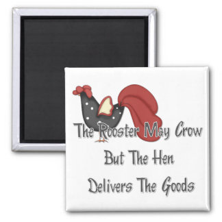El gallo puede cantar imán