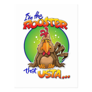 El gallo que Usta Tarjeta Postal