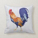 El gallo raya el amortiguador cojines