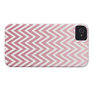 El galón rosado polvoriento del ombre raya la caja Case-Mate iPhone 4 cárcasa