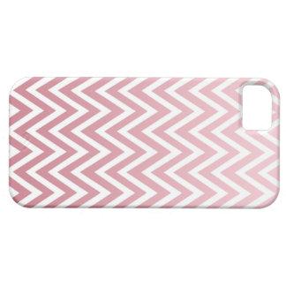 El galón rosado polvoriento del ombre raya la caja iPhone 5 Case-Mate fundas