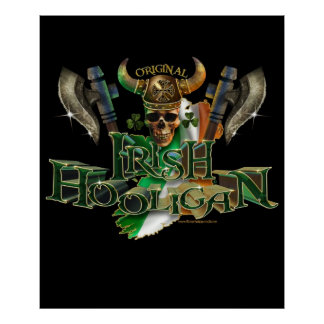 El gamberro irlandés póster