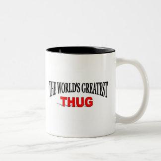 El gamberro más grande del mundo tazas de café