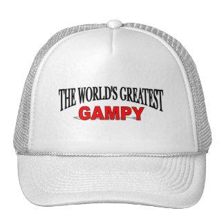 El Gampy más grande del mundo Gorras De Camionero