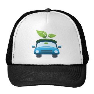 El ganador del premio va gorra verde del coche