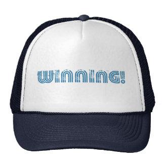 ¡El ganar! casquillo del gorra del camionero