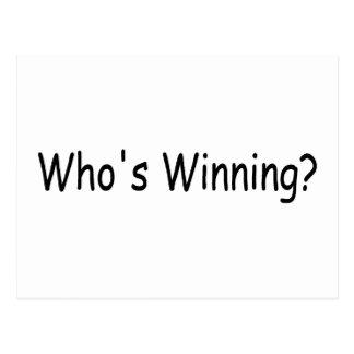 El ganar de Whos Postal
