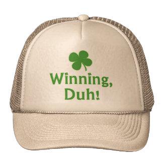 ¡El ganar, Duh!  Gorra del camionero
