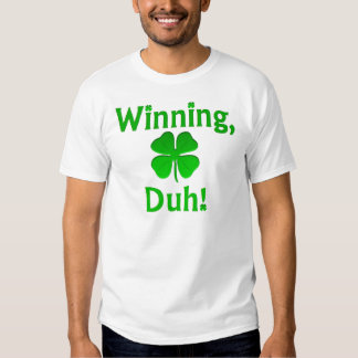 ¡El ganar, Duh! Playeras