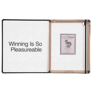 El ganar es tan Pleasureable iPad Cárcasa