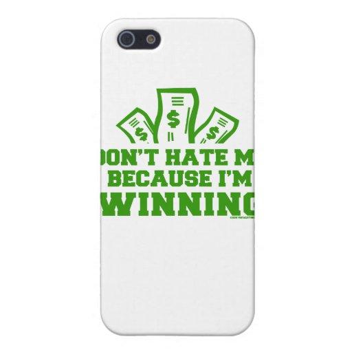 EL GANAR iPhone 5 FUNDA