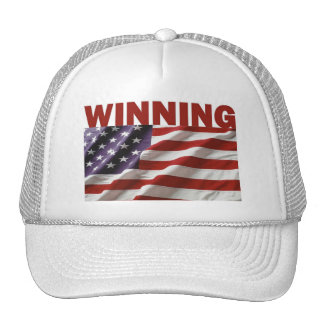 El ganar - los Estados Unidos de América Gorro