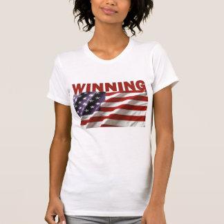 El ganar - los Estados Unidos de América Camisetas