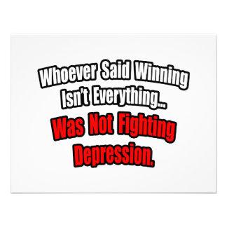El ganar no es todo cita depresión anuncio
